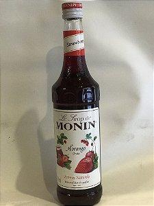 Xarope Monin Morango - 700ml