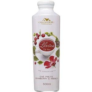 Chá Preto com Cranberry e Hibisco Libertea Casa Madeira - 500ml