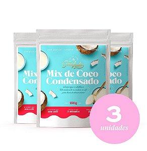 Combo 03 Mix de Coco Condensado Fru-fruta