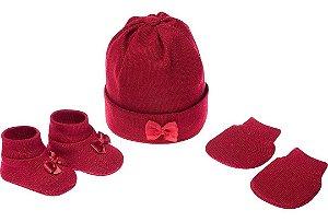 Conjunto Bebê Vermelho