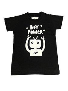 Camiseta Infantil Boy Power