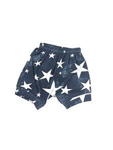 Shorts Suede Infantil Estampado
