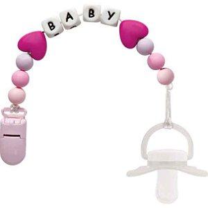 Prendedor de Chupeta Baby Buba