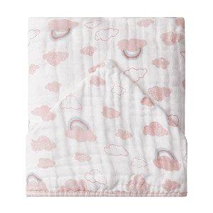 Toalhão de banho Papi Menina Nuvens