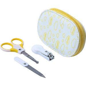 Kit Higiene Infantil Amarelo Pimpolho