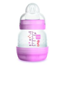 Mamadeira MAM Easy Start 130ml 0m+ Rosa