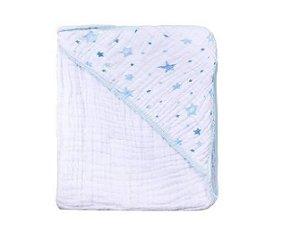 Toalha Soft Estrela Azul Papi