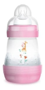 Mamadeira Mam Easy Start 160ml 0+m Rosa