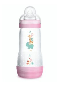 Mamadeira MAM Easy Start 320ml 4+m Rosa