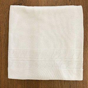 Manta de Trico Branca