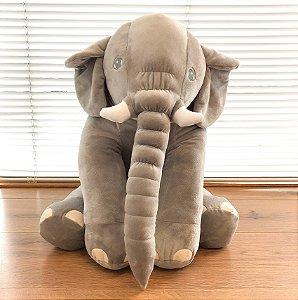 Almofada Elefante Cinza 60 cm
