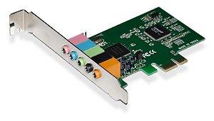 PLACA DE SOM PCI EXPRESS 6CH 5.1 - GA140