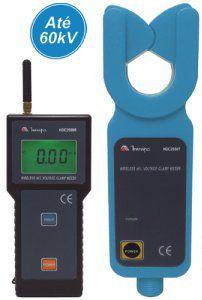 Alicate Amperímetro Digital 600 ACA/ Para linha de Distribuição até 69KV - HDC2550T/R