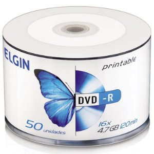 DVD-R ELGIN BULK 50 UNIDADES PRINTABLE