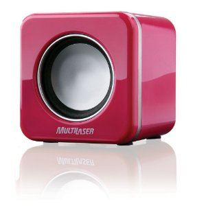 CAIXA DE SOM 2.0 4W RMS MINI PINK PIANO USB - MULTILASER - SP103