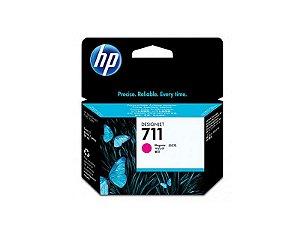 Cartucho de tinta HP 711 Magenta PLUK 29ml - CZ131AB