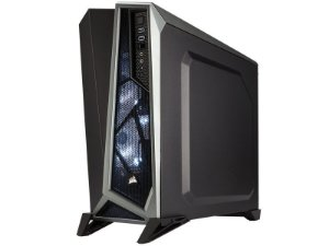 GABINETE GAMER CORSAIR CC-9011084-WW CARBIDE SERIES SPEC ALPHA PRETO/CINZA