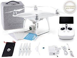 DRONE DJI CP.PT.000703 PHANTOM 4 ADVANCED+ RÁDIO CONTROLE C/ TELA INTEGRADA DE 5.5 POL