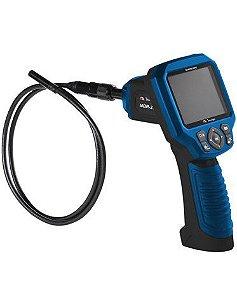 "Boroscópio - Camera de Insp 9 mm - Display LCD 2,7"" / Interface RCA e USB / Mic car Imput / Fotografa e Filma - MBR-270G"