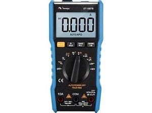Multímetro Digital CAT III  600V/6000 contagens / TRUE RMS / Função NCV - Minipa ET-1507B