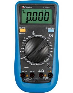 Multímetro Digital 3 5/6D /60Mohms/20A/cap./temp./freq. - Minipa ET-2042E