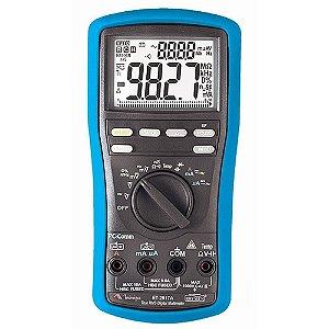 Multímetro Digital 5000contagens/freq./cap./temp. - Minipa ET-2517A