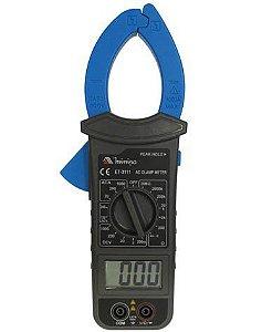 Alicate Amperímetro Digital CAT III Baixo custo - Minipa ET-3111