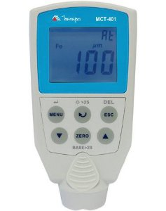Medidor Camada sobre base ferrosa e base metálica não ferrosa - Minipa MCT-401