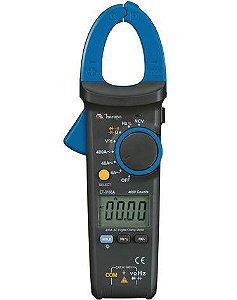 Alicate Amperímetro 400A AC – NCV/CAT III-600V/4000 contagens / Capacitância - Minipa ET-3166A