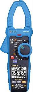 Alicate Amperímetro 6000 cont. CAT IV 600V / True RMS / Função NCV - Minipa ET-3367C