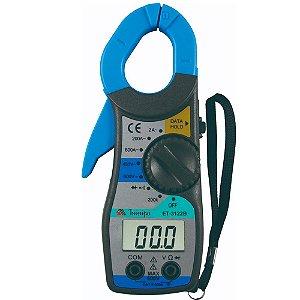 Alicate Amperímetro Dig.3 1/2D /CAT II 600V - Minipa ET-3122B