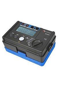 Megômetro CATIII 600V/ Resistência de Isolação até 5,5GΩ - Minipa MI-2552