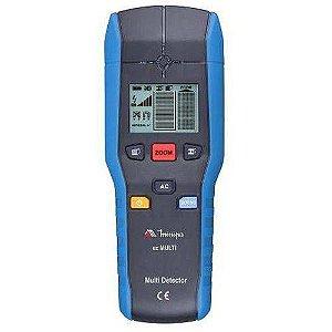 Multidetector de Parede - detecção de  metais ferrosos e não ferrosos e vigas de madeiras - Minipa EZ MULTI
