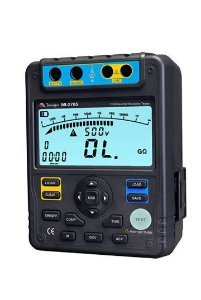 Megômetro CATIII 600V/ Tensão de Teste (DC) até 5kV e Interface USB - Minipa MI-2705