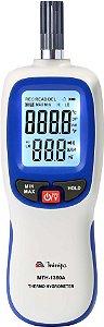 Termo-Higrômetro  Display Duplo com Iluminação / Faixa de -20°C a 70°C - Minipa MTH-1360A