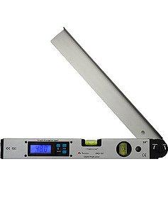 Medidor de Ângulo de 34cm, com bolha horizontal e vertical de 0 a 180 graus - Minipa MAD-185