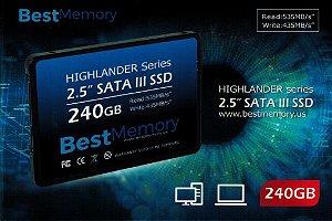 HD SSD 240GB - BTSDA-240G - Best Memory