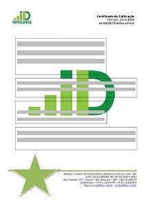 Certificado de Calibração para Multímetros Digitais Séries - ET-1507B/1605/1629/1639A/1649/1659/2030A/2042E/2075B/2076A/2077/2082/2110/2231A/2652