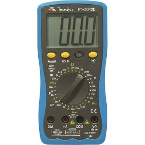 MULTIMETRO DIGITAL 3 1/2D/200MOHMS/20A/CAP./TE MINIPA ET-2042D