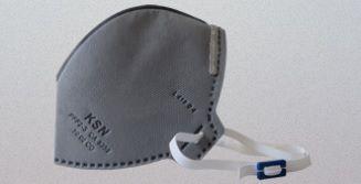 Máscara Descartável KSN N95/PFF2 - 10.02CO - PFF2S