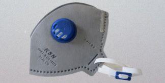 Máscara Descartável KSN N95/PFF2 C/ Válvula - 20.02CO PFF2S