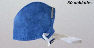Máscara Descartável KSN N95/PFF1 - 10.02 - PFF1S - CAIXA 50 UNIDADES
