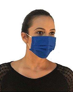Máscara Dupla Descartável TNT 60 - 14.001 - Pacote 50 Unidades