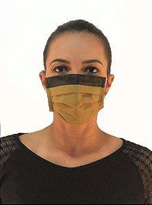 Máscara Tripla Descartável TNT 40 - 14.003 - Pacote 50 Unidades