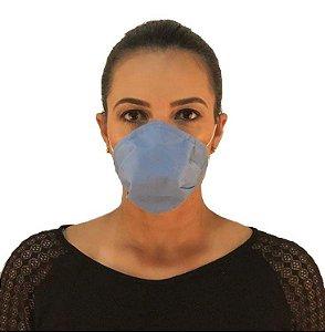 Máscara Dupla Azul A-98 SMS - 15.002 - Pacote 50 Unidades