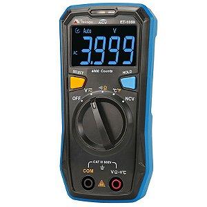 Multímetro Digital CAT III  600V Minipa ET-1050