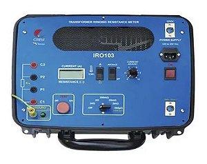 Medidor de Resistência em enrolamento de transformadores Minipa IRO-103