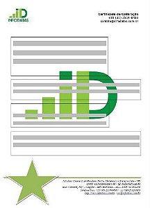 Certificado de Calibração para Decibelímetro, Indicadores, Microhmimetro, Miliohmimetro, Osciloscópios, Wheatstone