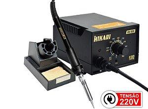 Estação de Solda Analógica Hikari HK-936 ESD - 220V