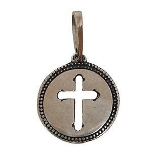 Pingente mandala cruz